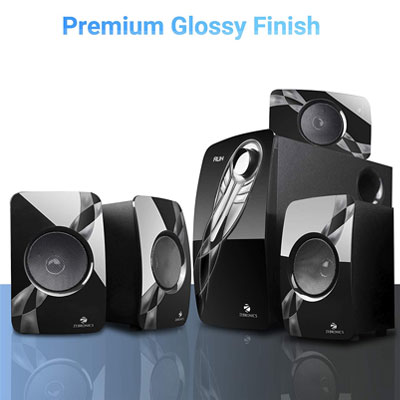Zebronics Jelly Fish 73W Bluetooth Home Theater (Black, 4.1 Channel)