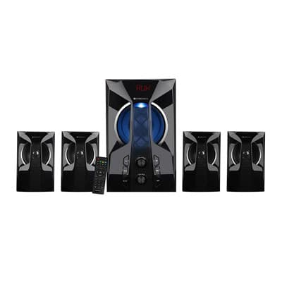 Zebronics Zen 4 Bluetooth Home Theater (Black, 4.1 Channel)