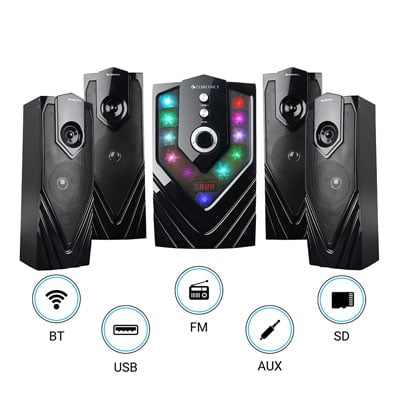 Zebronics SAMBA Bluetooth Home Theater (Black, 4.1 Channel)
