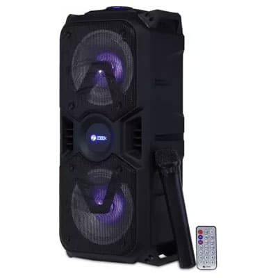 Zoook-Rocker-Thunder-Plus-40-watts-Karaoke-Bluetooth-Party-Speaker-with-Remote-&-Wireless-Mic
