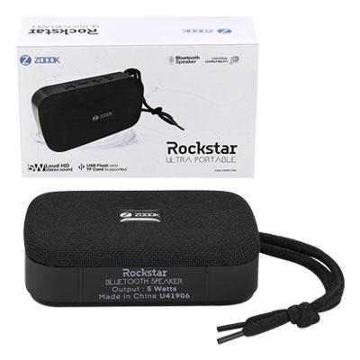 Zoook ZB-Rockstar 5 W Bluetooth Speaker (Grey - Black, Mono Channel)