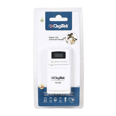 Digitek Digital LCD Universal Charger DLC-002 Camera Battery Charger (White)