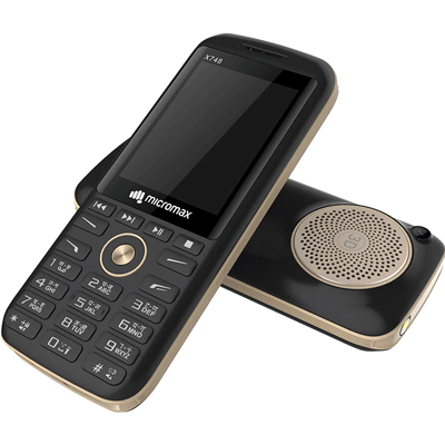 Micromax-X748-gold-black