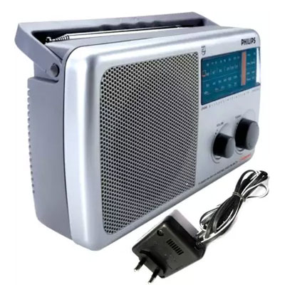 Philips-RL4450-USB-Radio-(Silver)