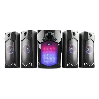 Zebronics INDIE 105 W Bluetooth Home Theatre (Black, 4.1 Channel)