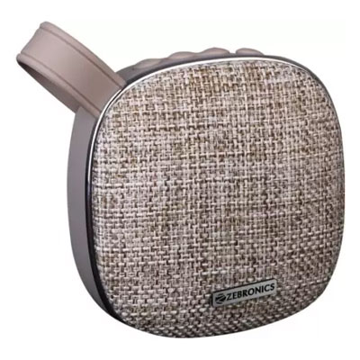 Zebronics ZEB-PASSION Bluetooth Speaker (Grey, 2.1 Channel)