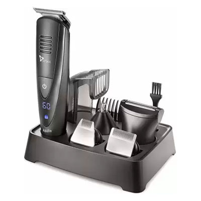 Syska HT4000k Runtime - 60 Min Grooming Kit for Men (Black)