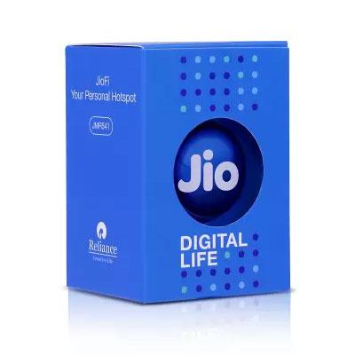 JioFi JMR 541 Data Card (Black)