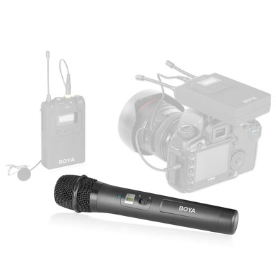 BOYA BY-WHM8 Pro UHF Wireless Handheld Transmitter Microphone