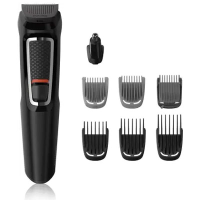 Philips MG3730 Multi-Grooming Kit For Men Runtime: 60 min Trimmer for Men (Black)