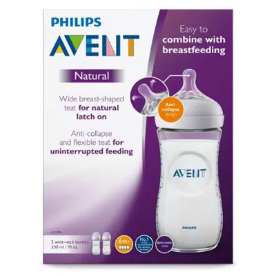 Philips Avent NATURAL 2.0 BOTTLE 125ml (White)