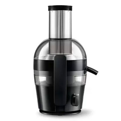 Philips HR1855 Viva Collection Juicer (Ink Black)