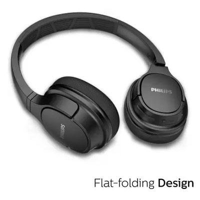 Philips ActionFit TASH402 Bluetooth Sweat Resistant On-Ear Sports Headphones