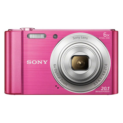 Sony Cybershot DSC-W810 20.1MP Digital Point & Shoot Camera