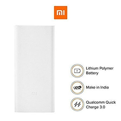 Mi-20000mAH-Li-Polymer-Power-Bank-2i white