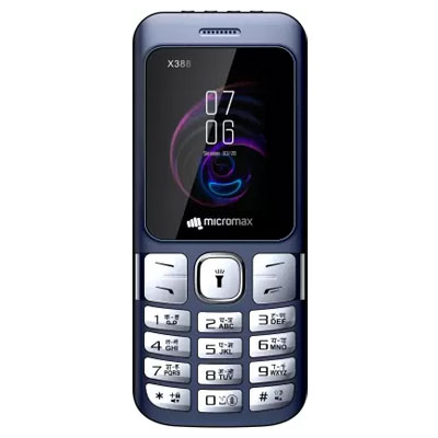 Micromax-X388-Mobile-Blue