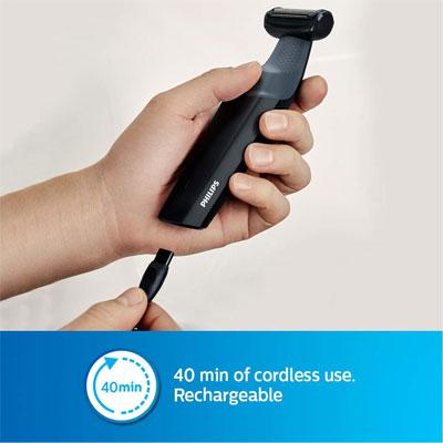 Philips BG3006 Body Groomer - Skin Friendly, Showerproof, Body Hair Shaver and Trimmer