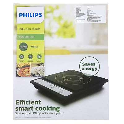 Philips Daily Collection HD4920 1500-Watt Induction Cooktop