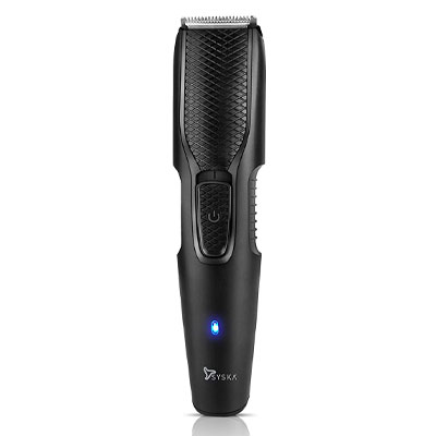 SYSKA HT200U Beard Pro Trimmer Runtime: 40 Mins Cordless Use (Black)