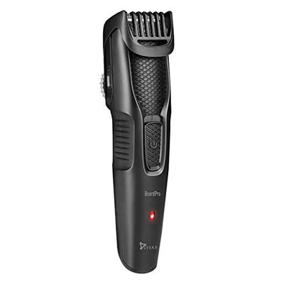 Syska HT200 Pro Beard pro Mustache & Beard Trimmer For Men (Black)
