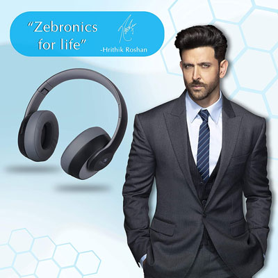 Zebronics Zeb-Dynamic with Wireless Bluetooth Headphone