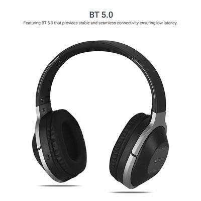 Zebronics Zeb-Zoom Bluetooth Wireless Headphone With Google Voice Assistant