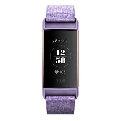 Fitbit-Charge-3-Fitness-Activity-Tracker-Open-Box-LAVENDER