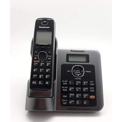 Panasonic-KX-TG3811-Cordless-Landline-Phone-M-BLACK