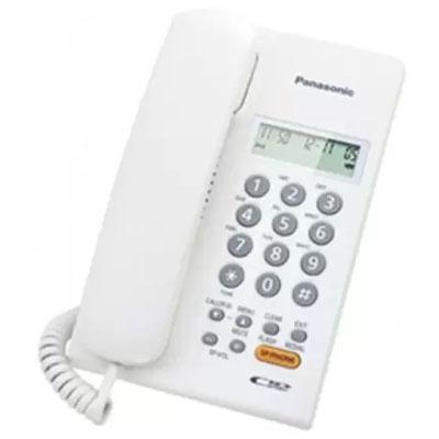 Panasonic KX-TS62SXW Corded Landline Phone (White)
