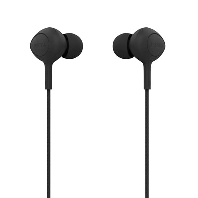 Corseca DMHF0027 Wired Earphones with Microphone (Black)