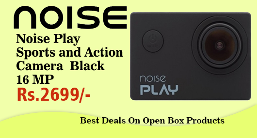 Noise Play Sports and Action Camera Black 16 MP OpenBox