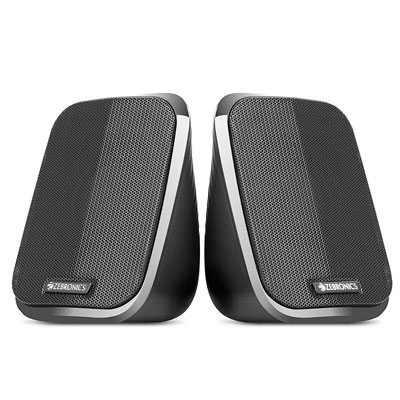 Zebronics FAME 2.0 channel 2.5 W Laptop-Desktop Speaker