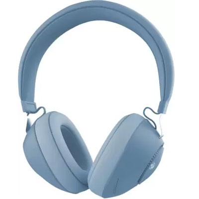 Zebronics Zeb-Duke Bluetooth Headset (Blue, On the Ear)