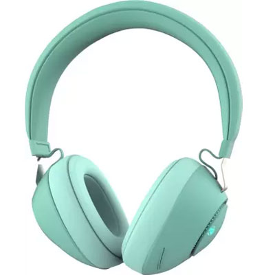 Zebronics Zeb-Duke Bluetooth Headset (Green, On the Ear)