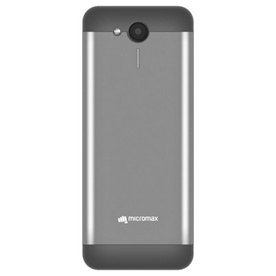 Micromax X706 Black & Grey Dual Sim Mobile