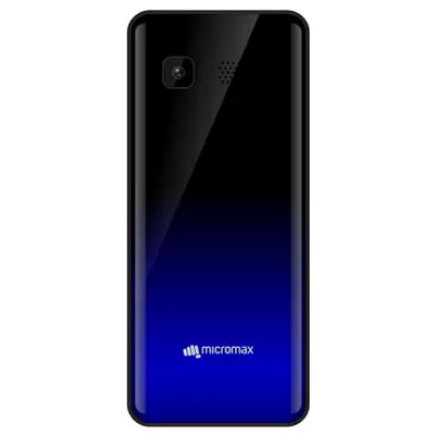 Micromax X807 Black & Blue Dual Sim Mobile