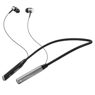 Zebronics Zeb-lark GreyBluetooth Headset