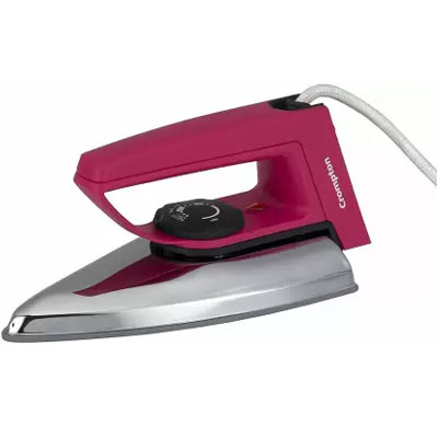 Crompton Rd Plus Dry Iron (750-Watt) pink