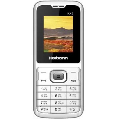 Karbonn KX5 (white grey)