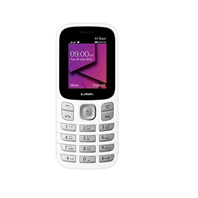 Lava A1 super (White, Grey)