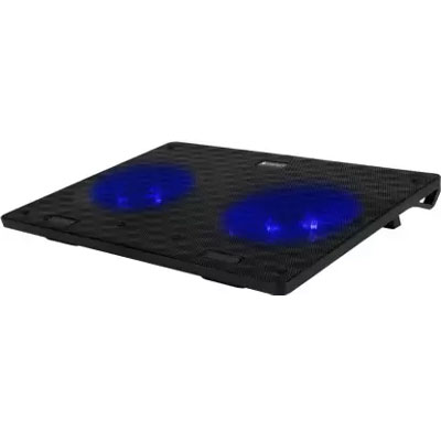 Zebronics ZEB-NC3300 2 Fan Cooling Pad (Black)
