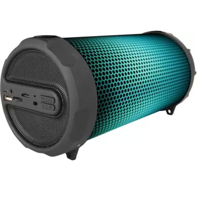 Pebble Dazzle - Bluetooth Speaker with RGB Dancing Lights