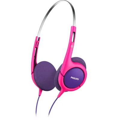 Philips SHK1031 Headphone (Pink/Purple)