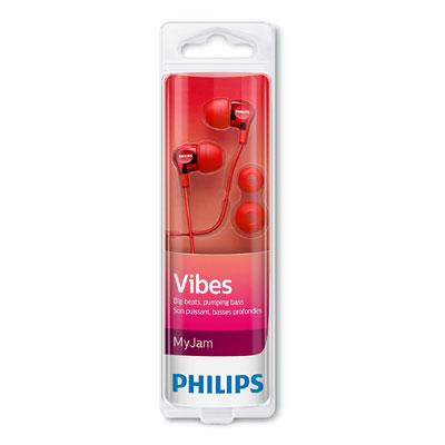 Philips SHE3700RD Earphone (Red)