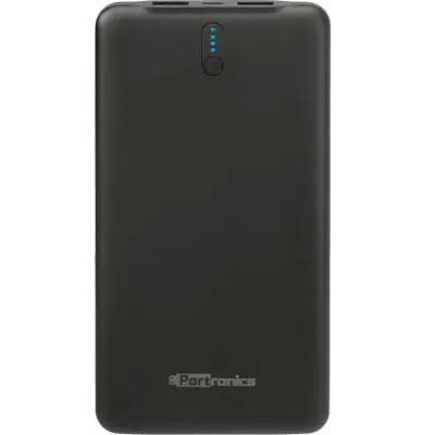 Portronics POR-694 10000mAh Power Bank (Black)