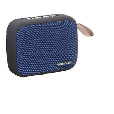 Zebronics Delight Portable Wireless Bluetooth Speaker BLUE