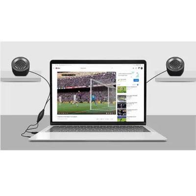 Zebronics ZEB-PLUTO 5 W Laptop/Desktop Speaker