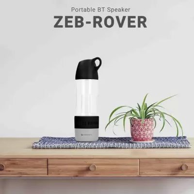 Zebronics ROVER Bluetooth Portable Speaker ( Black )