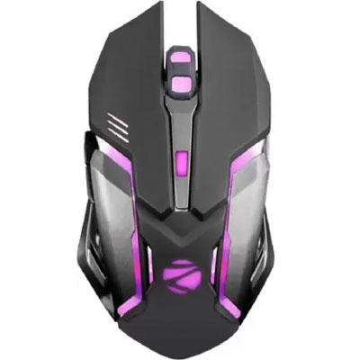 Zebronics Zeb-Transformer Mouse & Wired USB Gaming Keyboard (Black) Combo
