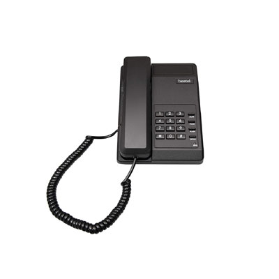 Beetel B11 Corded Landline Phone (Black)